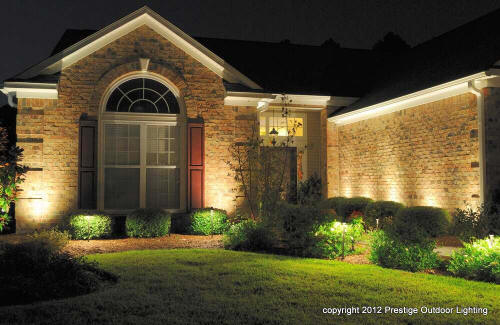 Outdoor lighting systems room ornament for Prestige homes new brunswick