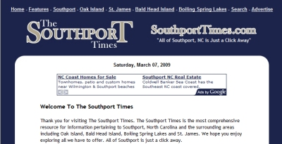Business Search on The Southport Times   Southport  Nc