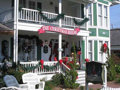 Christmas House - Attraction - 104 West Moore Street, Southport, NC, United States