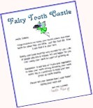 Fairy Tooth Castle Letter