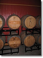 The Barrel Room at the Silver Coast Winery