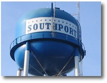 The Southport, NC Water Tower