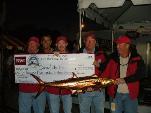 2011 Winners - U.S. Open King Mackerel Tournament